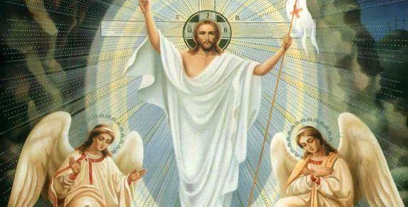 pintura resurrección cristo
