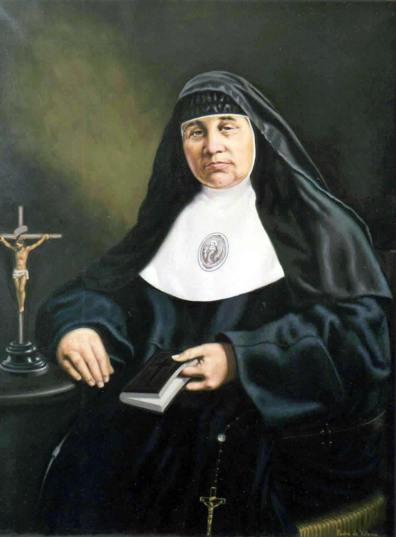 pintura madre francisca