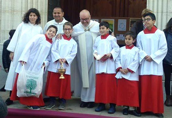 parroquia benissa monaguillo